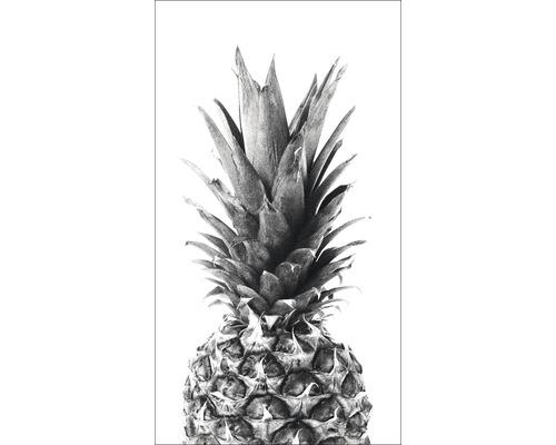 Panneau décoratif Ananas III 15x30 cm