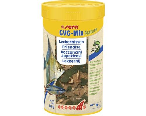 Flockenfutter sera GVG-Mix Nature Leckerbissen 250 ml