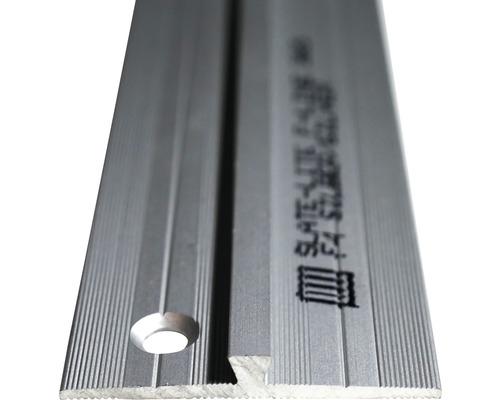 Barre profilée de jonction Slate-Lite F-Line argent 2,5m