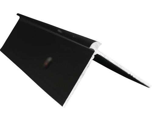 Barre profilée angle extérieur Slate-Lite F-Line acier 2,5m