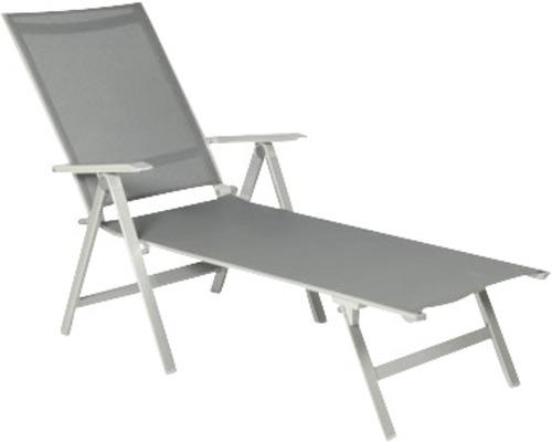 Chaise pliante Urban platine/graphite