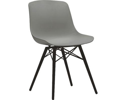 Ensemble de meubles de jardin lot de 2, chaise baquet Acamp New York anthracite gris