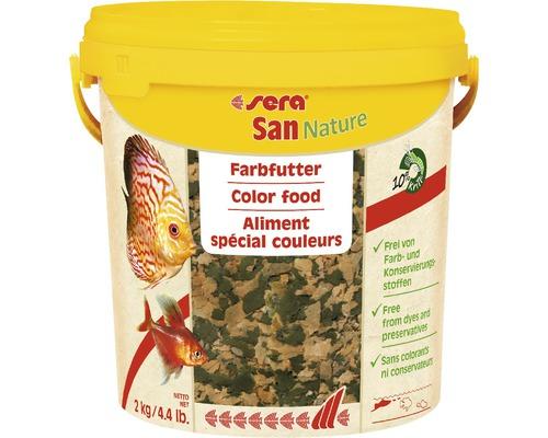 Farbfutter sera San Nature 2 kg