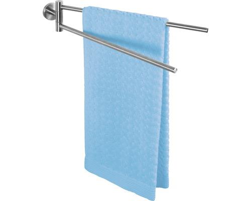 Porte-serviettes Bosio acier inoxydable mat