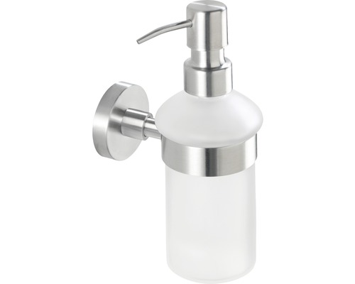 Distributeur de savon Bosio acier inoxydable mat