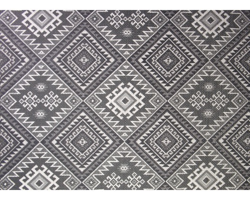 Tapis extérieur Kela anthracite 90x150 cm