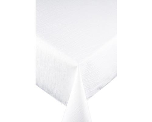 Nappe flair royal Stripes blanc Ø160cm