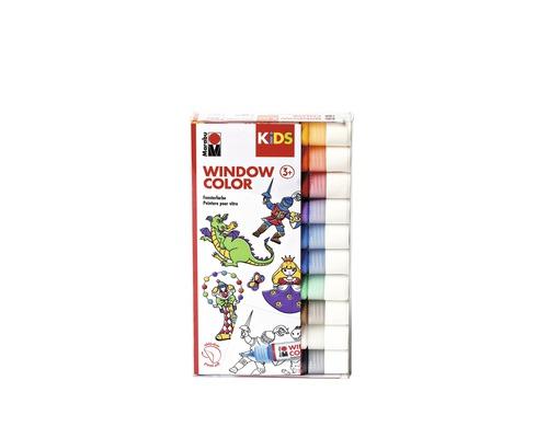 Marabu KiDS Window Color assortis 10x 25ml