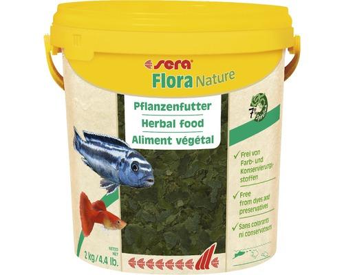 Flockenfutter, Pflanzenfutter sera Flora Nature 2kg