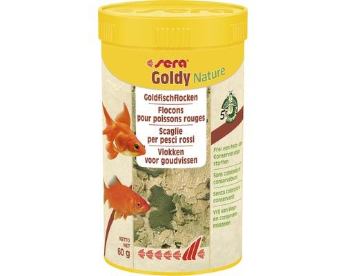 Flockenfutter sera Goldy Nature 250 ml