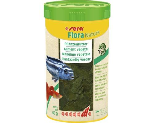 Pflanzenfutter sera Flora Nature 250 ml