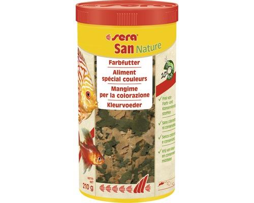 Farbfutter sera San Nature 1000 ml