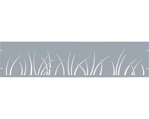 Clôture de jardinet GABIO Spring 180x45cm vert clair
