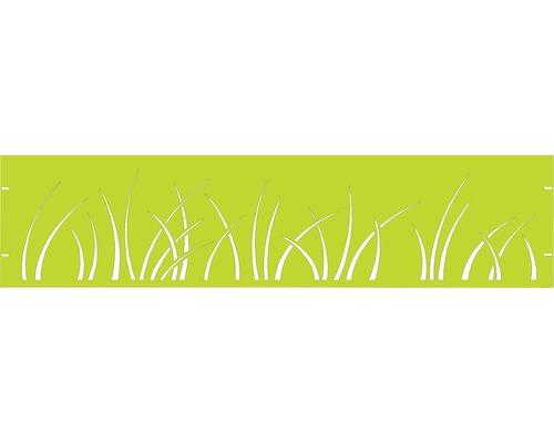 Clôture de jardinet GABIO Spring 180x45cm vert tendance