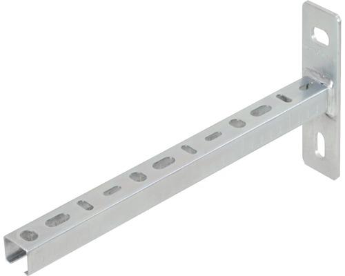 Console de rails 27x18x200mm