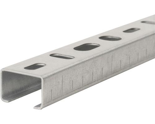 Rail de montage 27x18x1000mm