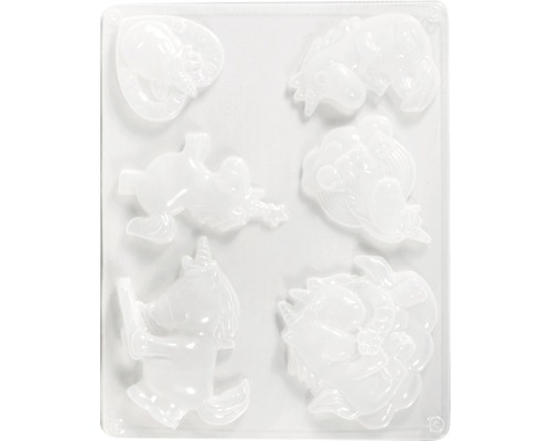 Moule: licornes 2, 6 motifs