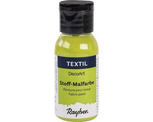 Peinture pour textile, 34ml, vert tilleul