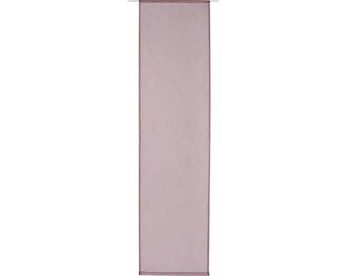 Schiebegardine Voile rose 60x245 cm