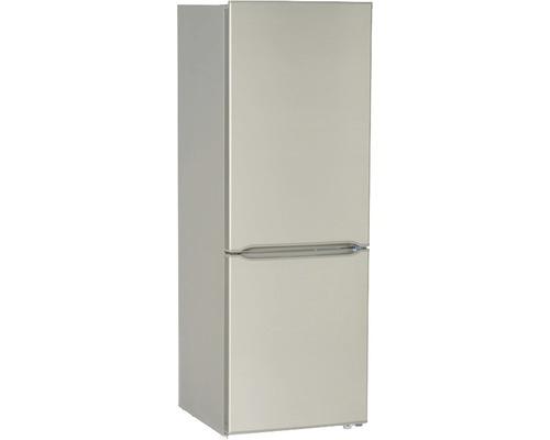 Réfrigérateur-congélateur PKM KG 230.4A+++SI lxhxp 49.5 x 143 x 56.2 cm compartiment de réfrigération 122 l compartiment de congélation 53 l