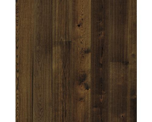Parquet 13.0 chêne alpin brun foncé plancher de maison de campagne