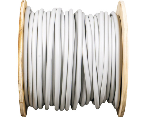 Câble sous gaine NYM-J 5x10 mm², tambour pro 100 m gris