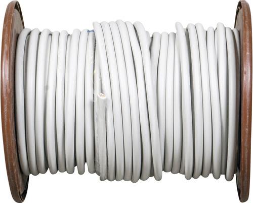 Câble sous gaine NYM-J 5x6,0 mm², tambour pro 100 m gris