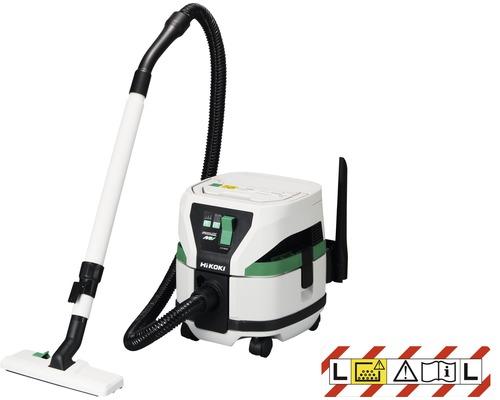 Aspirateur eau et poussière sans fil HiKOKI RP3608DA 36V, sans batterie ni chargeur avec tuyau d'aspiration 1,5m et buse de sol