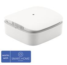Capteur d''humidité et de température Z-Wave blanc Eurotronic hxlxp 56x56x24mm compatible avec tous les produits SMART HOME by HORNBACH-thumb-0
