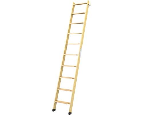 Escalier pour lit surélevé 2 parties Dolle avec 10 montées