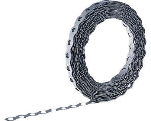 Bande de montage perforée ondulée Ø5,5 12mmx10m