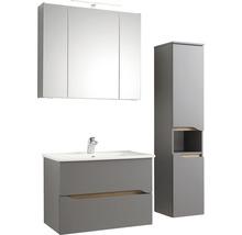 Vasque à encastrer pelipal Offenbach et Capri 75 cm céramique blanc-thumb-1