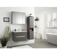 Vasque à encastrer pelipal Offenbach et Capri 75 cm céramique blanc-thumb-3