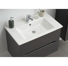 Vasque à encastrer pelipal Offenbach et Capri 75 cm céramique blanc-thumb-5