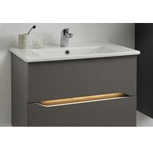 Vasque à encastrer pelipal Offenbach et Capri 75 cm céramique blanc-thumb-6