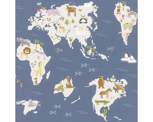 Papier peint 210910 Kids&Teens 3 carte géographique