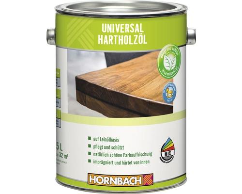 Huile pour bois dur universelle HORNBACH incolore 2.5l