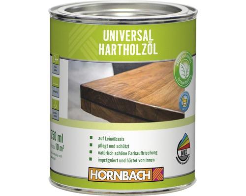 Huile pour bois dur universelle HORNBACH incolore 750ml