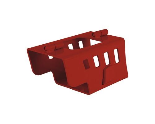 Serrure de timon pliable avec cadenas bloque-disque