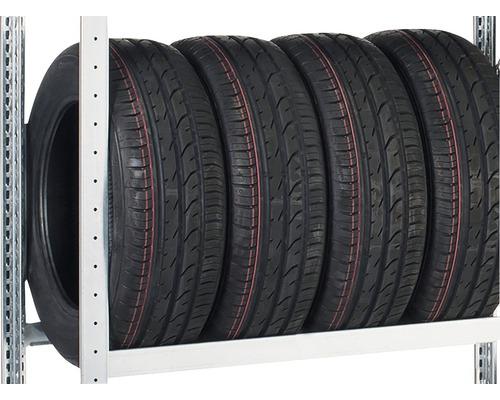 Niveau supplémentaire d'étagère à pneus Schulte zinguée 900x400mm jusqu'à 150kg