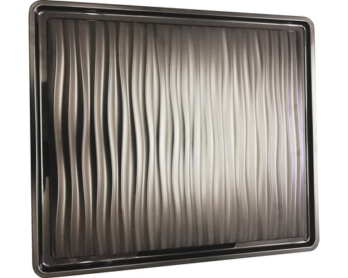 Égouttoir BLANCO plastique noir-gris 380x430mm 230734