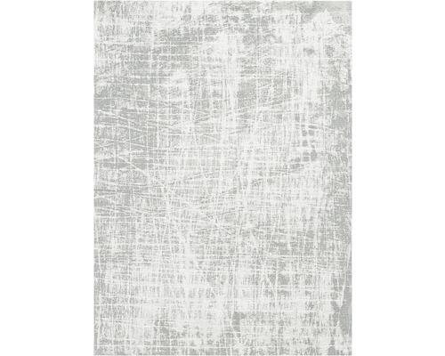 Tapis Carina gris rayé 80x150cm
