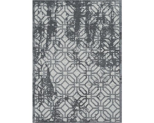 Tapis Carina gris moderne 80x150cm