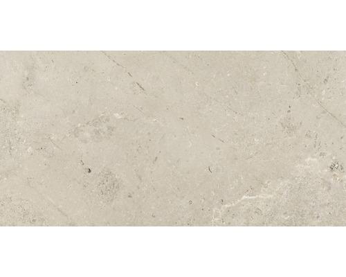 Feinsteinzeug Wand- und Bodenfliese Anden Bone matt beige 30x60 cm