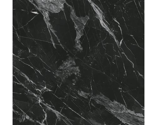 Carrelage sol et mur Carracci poli anthracite 120 cm x 120 cm