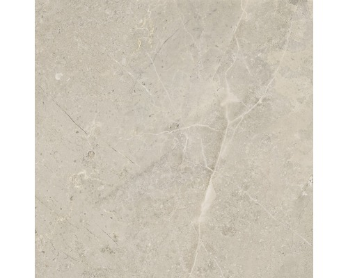 Carrelage pour mur et sol en grès cérame fin Anden beige mat 60x60cm
