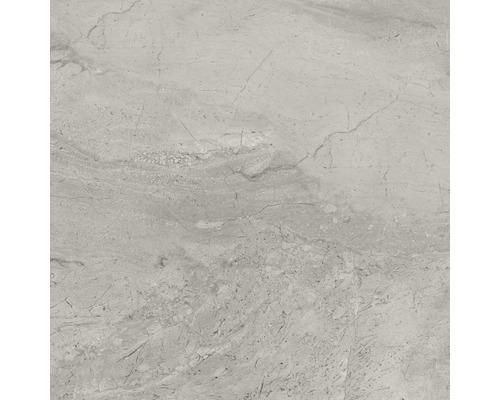 Carrelage sol et mur Sicilia Grigio gris poli 60 x 60 cm