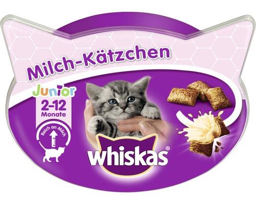 Friandise pour chat Whiskas lait pour chaton Junior 2-12 mois 55 g