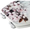 WC-Sitz form & style MDF Flower mit Absenkautomartik und leicht abnehmbar