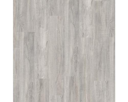 Planche vinyle Dryback Land Oak Grey, à coller, 23x150cm-0